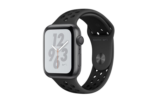 Apple Watch Nike+ Series 4 (Space Gray, 44mm, Anthracite/Black Nike Sport Band, GPS Only)