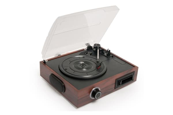 mbeat USB Turntable and Cassette to Digital Recorder 2-in-1 (USB-TR08)
