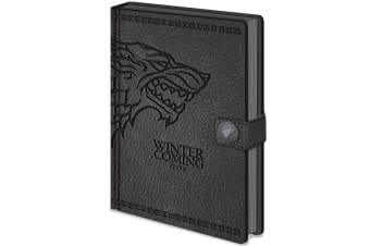 Game Of Thrones Stark Premium Notebook (Grey) (A5)