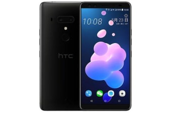 New HTC U12+ Dual SIM 128GB 4G LTE SmartPhone Ceramic Black (FREE DELIVERY + 1 YEAR AU WARRANTY)