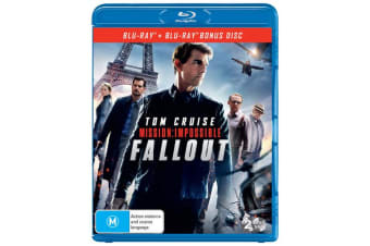 Mission Impossible Fallout Blu-ray Region B