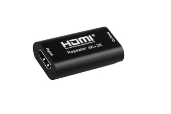HDMI Repeater 4K UHD HDMI Female to Female HDMI Amplifier 40' HDMI Extender Up to 40 Meters