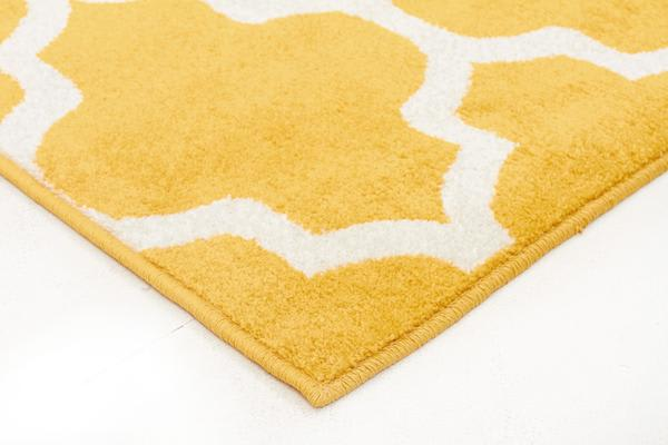 Indoor Outdoor Morocco Rug Yellow 290x200cm