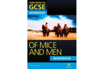 Of Mice and Men - York Notes for GCSE Workbook (Grades A*-G)