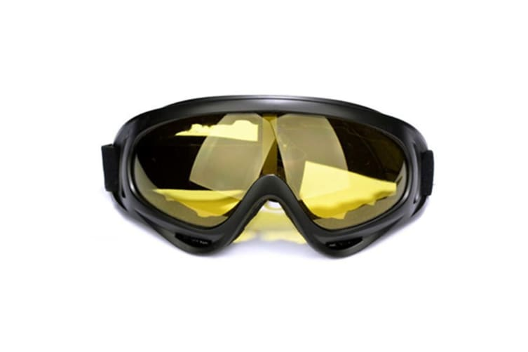 Ski Goggles  Snowboard Goggleswith 100% UV400 Protection,Wind Resistance, Anti-Glare Lens Yellowlens