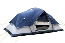 6 Person Family Camping Tent (Navy/Grey)