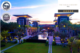 BALI: 5 or 7 Nights at The Sakala Resort, Nusa Dua