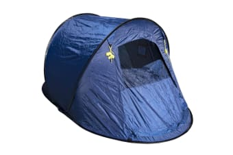 Roman Instant Tent Quick Easy Set Pop Up & Pack Away 2 Person Waterproof Camping