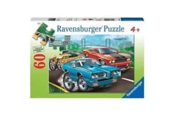 Ravensburger Muscle Cars Puzzle - 60 Piece