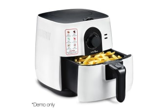 3L 1500W Air Fryer (White)