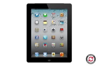 Apple iPad 2 (64GB, Cellular, Black) - Apple Certified Refurbished