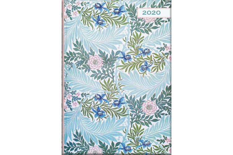 William Morris - Larkspur - 2020 Diary Planner A5 Padded Cover Gifted Stationery
