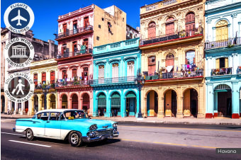 CUBA: 9 Day Captivating Cuba Tour Including Flights for One or Two