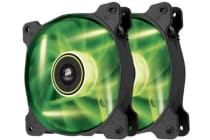 Corsair SP 140mm Fan with Green LED High Pressure Twin Pack!