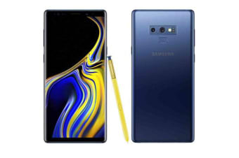 Brand New Samsung Galaxy Note 9 Dual SIM 512GB Phone Ocean Blue (12MTH AU WTY)