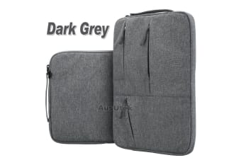 "For MacBook Pro 13.3""New Macbook Pro A1989 With Touch Bar Laptop Sleeve Travel Bag Carry Case-Dark Grey"