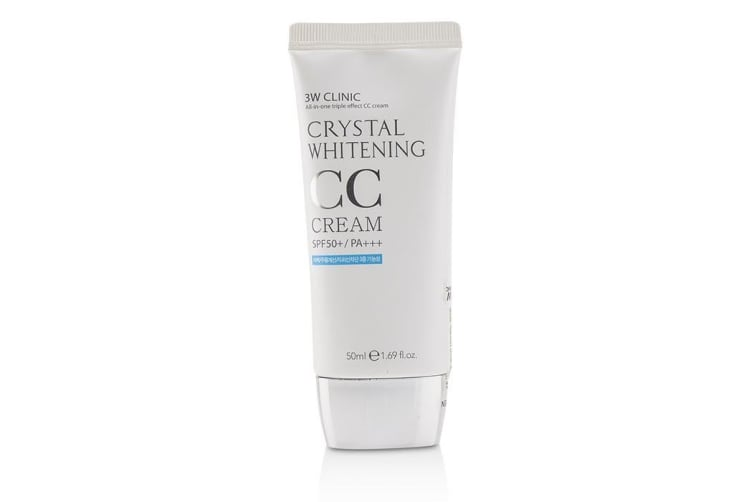3W Clinic Crystal Whitening CC Cream /PA+++ - #02 Natural Beige 50ml