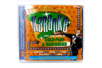 BCI Cold Play Radio head Karaoke BRAND NEW SEALED MUSIC ALBUM CD - AU STOCK
