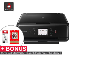 Canon Pixma Home Multi-function Printer - Black (TS6160)