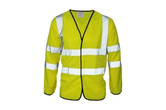 Absolute Apparel Mens Hi Viz Coatlet (Saturn Yellow)