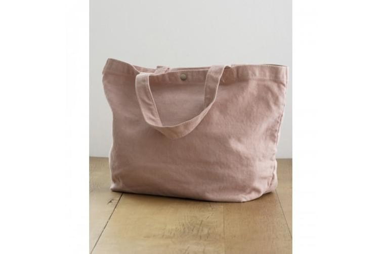 Bags By Jassz Small Canvas Shopper (Canadian Autumn Maple) (One Size)
