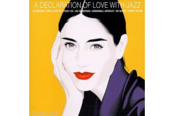 A Declaration of Love with Jazz by Various Artists MUSIC CD NEW SEALED