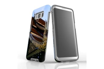 For Samsung Galaxy S8 Case Armour Cover  Intricacy of the Temple