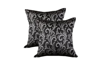 Pair of Hutton European Pillowcases by Bloomington