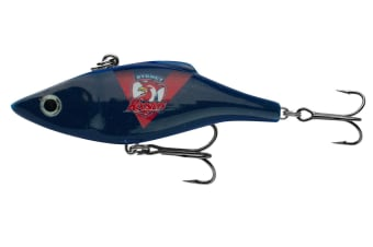 Rapala 7cm NRL Club Rattlin' Vibe Fishing Lure - Choose your Team [Team: Roosters]
