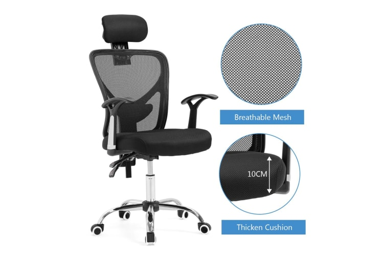Fabulous Reclining Mesh Ergonomic Office Computer Chair Black Office Chairs Ncnpc Chair Design For Home Ncnpcorg