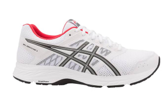 ASICS Men's GEL-Contend 5 Running Shoe (White/Black)