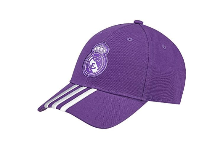 Adidas Real Madrid Baseball Cap (Purple) (One Size)