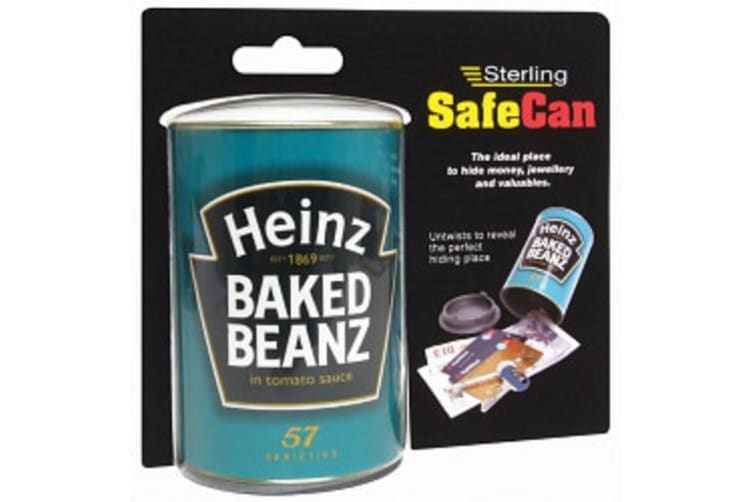 Sterling Heinz Baked Beans SafeCan (Green) (One Size)
