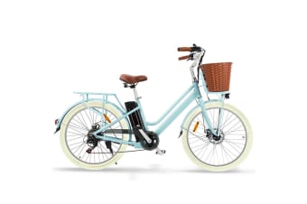 Nishiro 36V Electric Bike Ebike Vintage Ladies Pedelec Bicycle Battery 250W 26 Inch