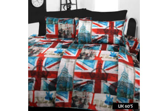 UK 60's Quilt Cover Set by Big Sleep