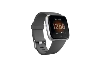 Fitbit Versa Lite Health and Fitness Smart Watch - Charcoal