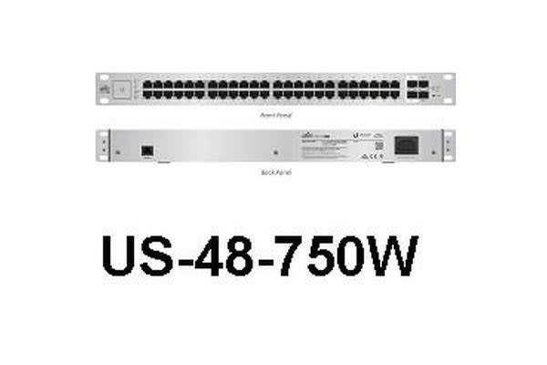 Ubiquiti UniFi Switch 48-port 750W PoE+ Support
