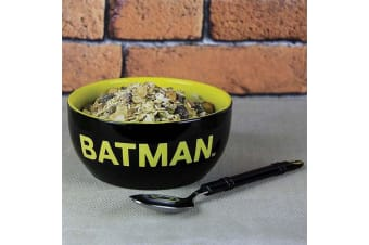 DC Comics Batman Ceramic Breakfast Set