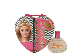 Mattel Barbie Metalic Heart Eau De Toilette Spray 100ml/3.4oz
