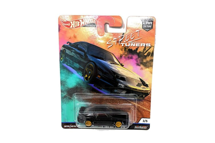 Hot Wheels Premium 96 Nissan 180 SX Type X Diecast Toy Car