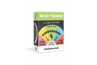 Punderdome Wild Things Expansion Pack - 50 Cards Toucan Add to the Core Game