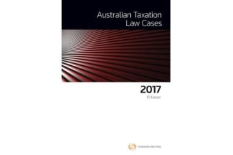 Australian Taxation Law Cases 2017
