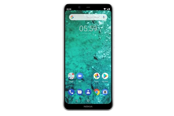Nokia 5.1 Plus Dual SIM (32GB, Glacier White)