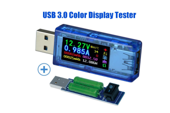 AT34 USB 3.0 Power Meter Tester USB load Digital Multimeter Current Tester Voltage Detector