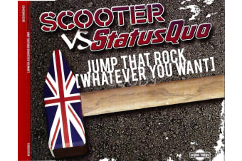 Scooter vs StatusQuo -Jump that rock [Whatever you want] PRE-OWNED CD: DISC LIKE NEW