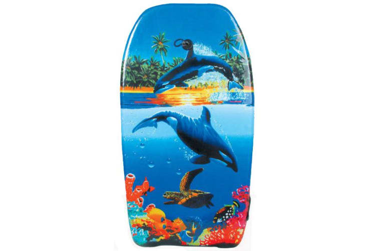 Palm Beach Wave Rider 41 Whale Print Bodyboard