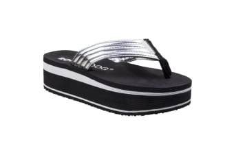 Rocket Dog Womens/Ladies Jimmies Little Gem Slip On Sandals (Silver)
