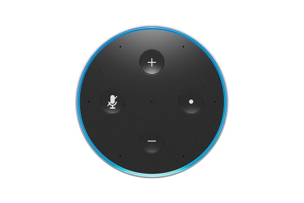 Amazon Echo (2nd Generation, Sandstone Fabric)