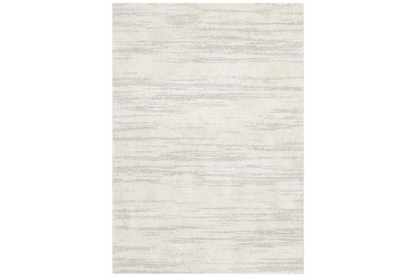 Carter Silver Grey & Ivory Contemporary Rug 230x160cm
