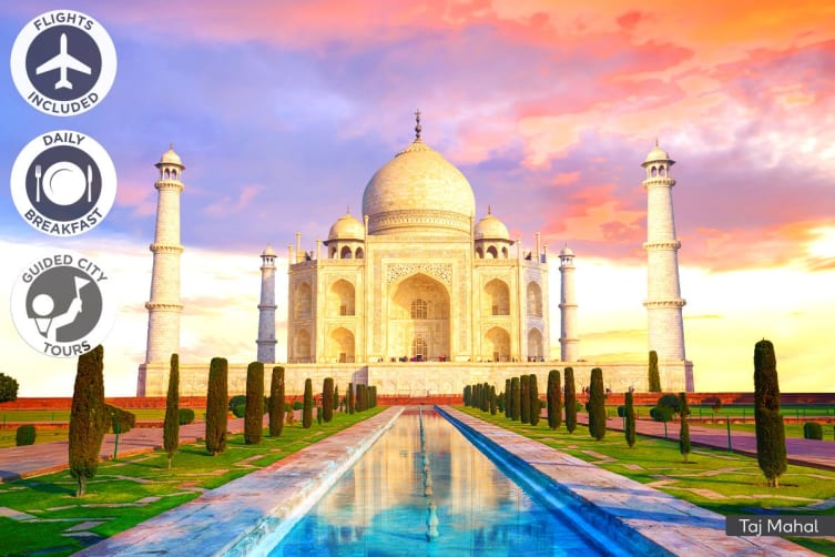 INDIA: 16 Day Classic India Tour Including Flights for Two (Standard)